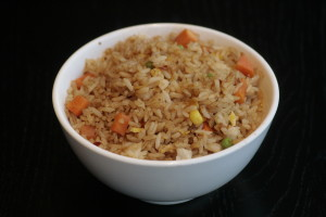 H5 Chao Fan Vegetarian fried rice.